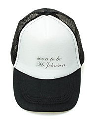 "Personalized ""Soon To Be Mr."" Sports Hat"