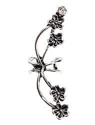 Punk Wind Restoring Ancient Exaggerated Flower Earring