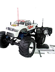 1:8 RC Truck Nitro Gas 21CC Motor 4WD 3-Speed ​​Monster Truck RTR Radio Remote Control Car Toys