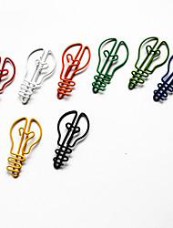 coloridos do estilo lâmpada de papel (cor aleatória, 10-pack)