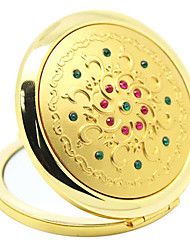 Alloy Series Golden Make Up Mirrors Random Send