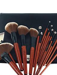 18PCS Makeup Brush Set with Free Elegant Pouch