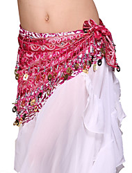 Performance Dancewear Tulle with Sequins Belly Dance Belt For Ladies More Colors