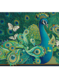Stretched Canvas Art Paisley Animal Peacock by David Galchutt Ready to Hang