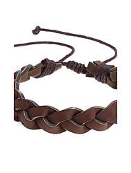 Z&x® коричневый плетеный браслет