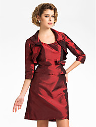 Half Sleeve Taffeta Evening/Wedding Wrap/Evening Jacket (More Colors) Bolero Shrug