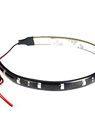 LED Strips 30cm, Rot / Weiß / Blue-Ray