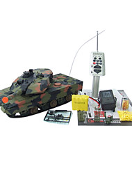1:24 RC Radio Remote Réservoir Réservoirs de contrôle Leopard A5 Jouets bataille militaire