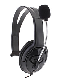 Headphone Microfone Headset para Xbox 360 (preto)