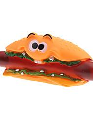 Ridendo Hot Dog Style cigolio Giocattoli per cani