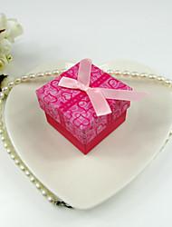 Red Paper Damenschmuck Box