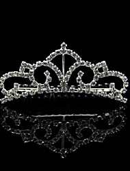 Elegant Alloy With Rhinestone Women's Wedding Tiaras