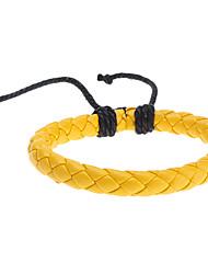 z&x® bracelet cuir de couleur tricot pur