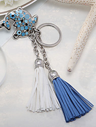 Nice Dolphin Keyring With Tassels