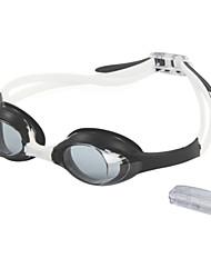 Мужская Anti-Fog & UV защитные покрытия плавательные очки с Earplug RH1300 (разных цветов)