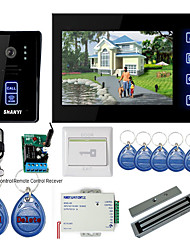 "7"" Touch Panel Video Door Phone System with Magnetic lock + RFID keyfobs"