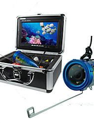 Видеосистема для рыбалки: водонепроницаемая камера для отслеживания для отслеживания рыбы (HD 600TV) и 7 TFT LCD экран