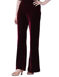Dancewear Velvet Modern Dance Bottom For Ladies More Colors