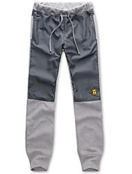 uomini sport pantaloni dritti lunghi