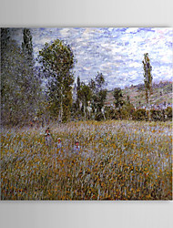 Famous Oil Painting A Meadow by Claude Monet