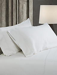 Simple&Opulence® 2-Pack Pillowcase set, 100% Linen Solid White