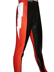 Red and Black Spandex Pants