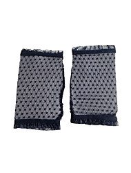 Wrist Length Fingerless Glove Nylon Party/ Evening Gloves