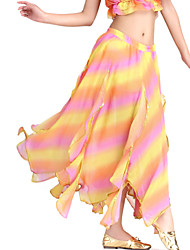 Dancewear Chiffon Belly Dance Colorful Skirt