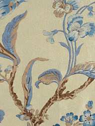 "Mediterranean Stripe Polyester Embossed Fabric (Fabric Weight-Medium) - Width=110"" (280 cm)"