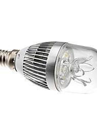 Ampoules Globe Gradable Blanc Naturel B E14 3 W 3 LED Haute Puissance 270 LM 6000K K AC 100-240 V