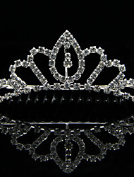Women's/Flower Girl's Rhinestone/Alloy Headpiece - Wedding/Special Occasion Tiaras