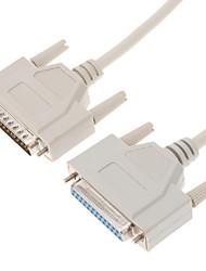 db-25 ma f cable de extensión para el intercambio de datos (2,7 m)