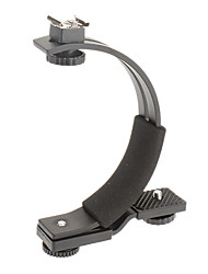 C-Shaped Flashlight Supporter for Camera or Camcorder