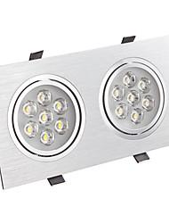 14W LED de luz moderna con 2 placas de LED en 30-90 ° Beam Angle
