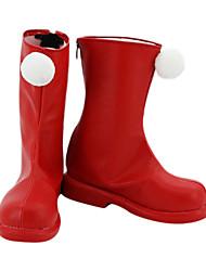 Cosplay Boots von Card Captor Sakura Sakura Kinomoto Red Boots inspiriert