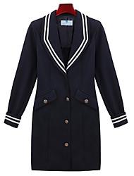 Alan Tailor Collar Contrast Color Coat