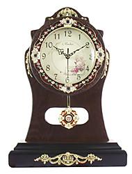 Antique Floral Talble Clock