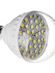 E27 7W 42x5050SMD 470-520LM 6000-6500K Cool White Light LED Bulb (220V)