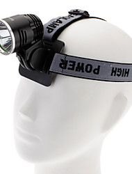 LED LetterFire LF18 3-Mode del CREE XML-T6 fari (1200LM 4x18650 Nero)