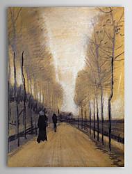 Famous Oil Painting Alley Rodeado por árvores de Van Gogh