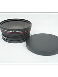 72mm 0.45x groothoek + macro voorzetlens 72 0,45