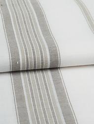 "TWOPAGES® Mediterranean Stripe Linen Jacquard Fabric Width=110"" (280 cm)"