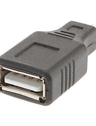 Micro USB para USB / A Adaptador M / F