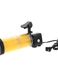 hohe Effizienz leistungsstarke wp-3300A internen Elektrofilter mit LED-Blitzlichter für Aquarien (2-teilig)