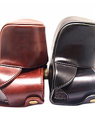 couverture de caisse de sac en cuir pour Olympus E-P1 E-P2 E-P3 EP1 EP2 EP3 caméra L.BR