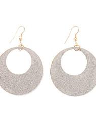 Silber Hoop Schöne Ohrringe