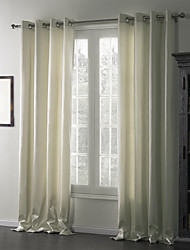 (Two Panels) Contemporary Quiet Eco-friendly Curtain