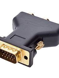 VGA to 3RCA M/F Adapter