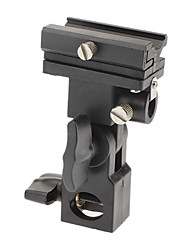 B-Shaped Flashlight Supporter for Camera or Camcorder