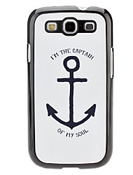 Anchor Pattern Hard Case for Samsung Galaxy S3 I9300